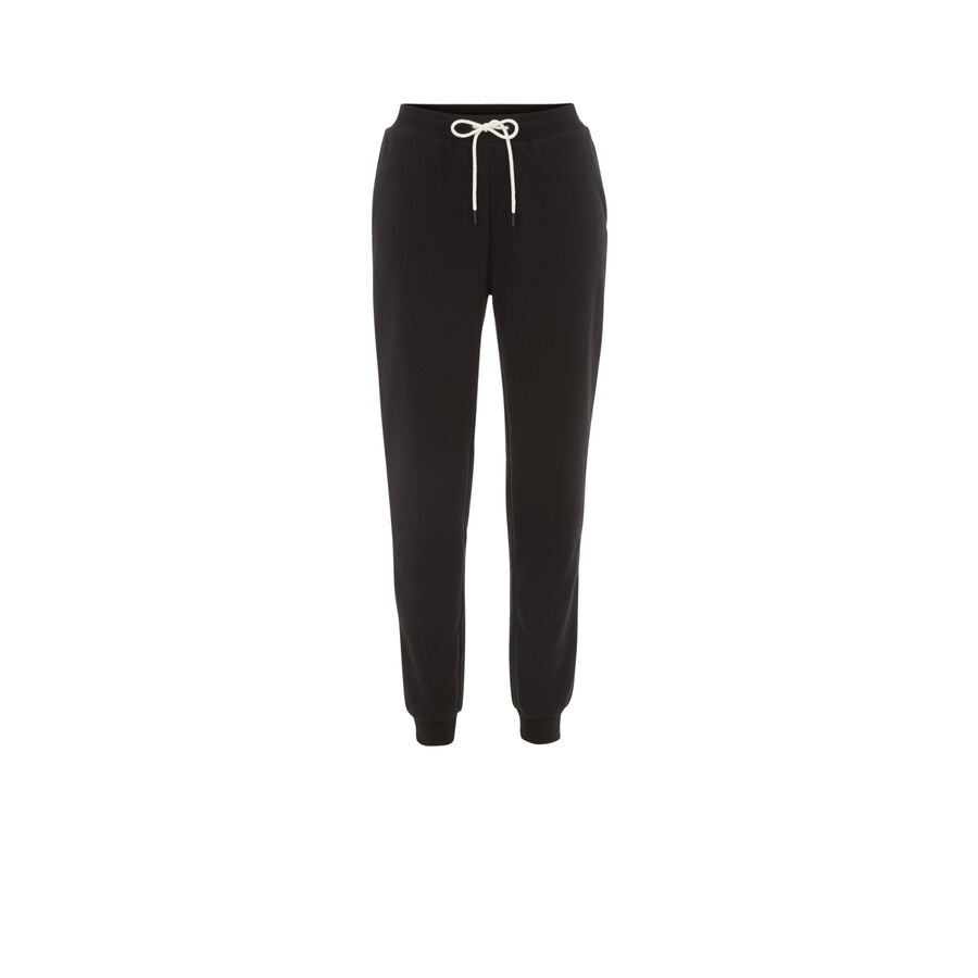 Pantalon noir englichatoniz;