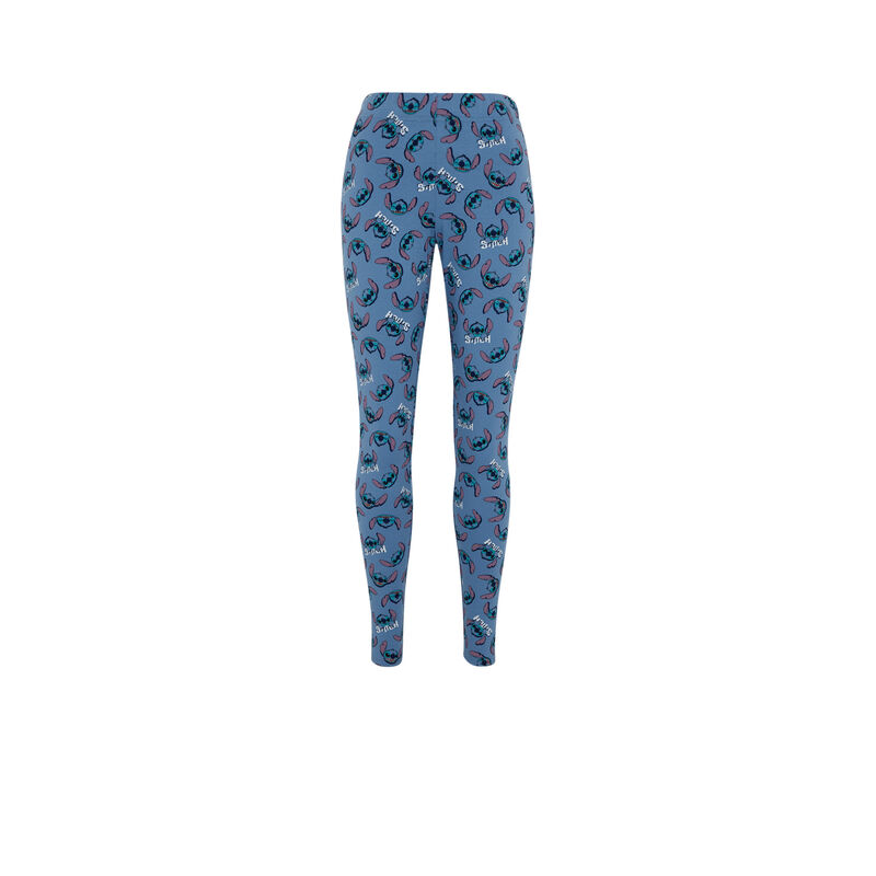 Leggings con estampado Stitch - azul ;