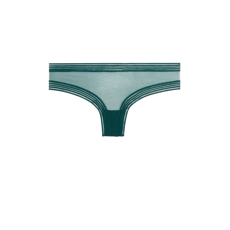 Culotte verde wafiz;