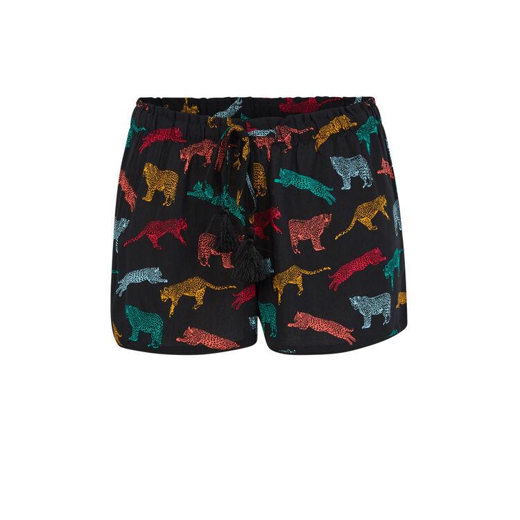 Shorts negros pomfloriz;