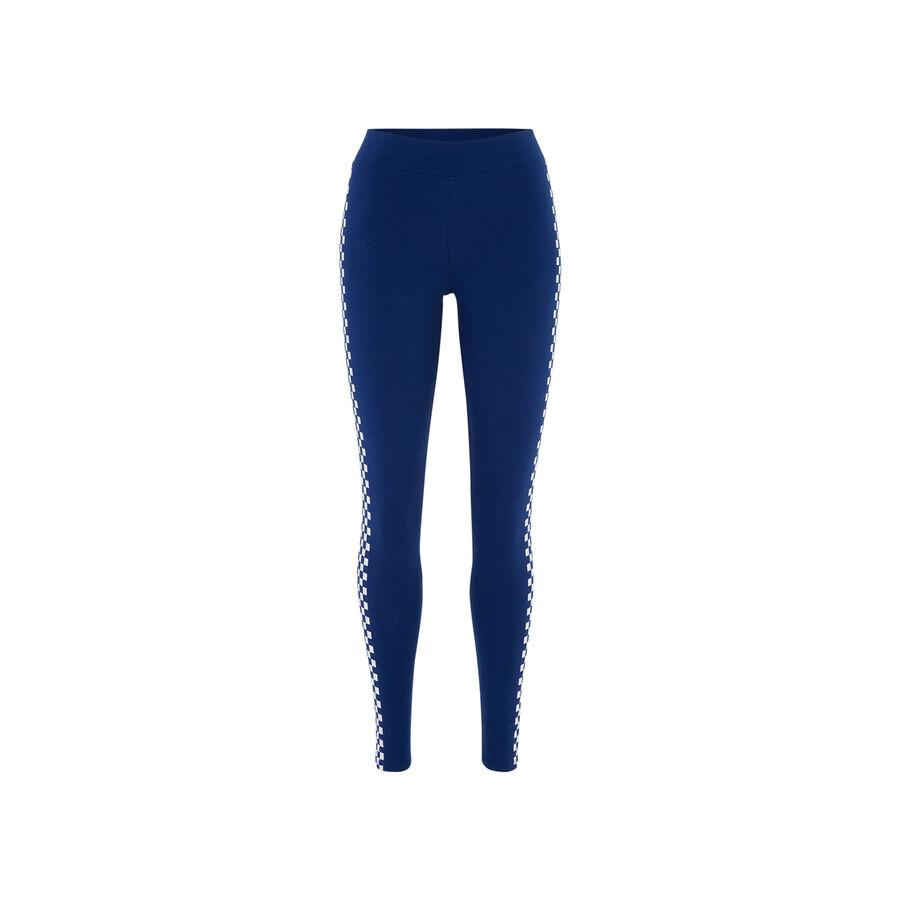 Legging azul marino lafiliz;