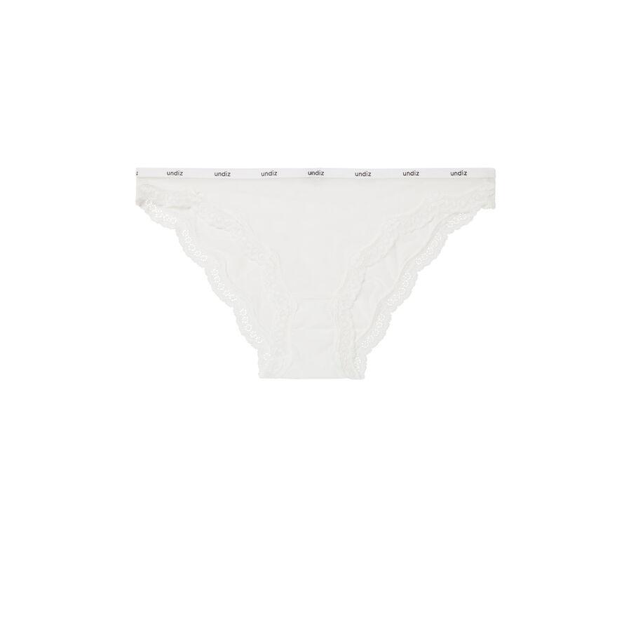 Culotte blanco veteriz;