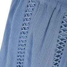 Short azul y gris lilopopiz blue.