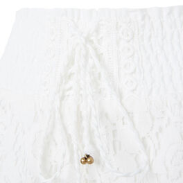 Short blanco roto shortiyiz white.