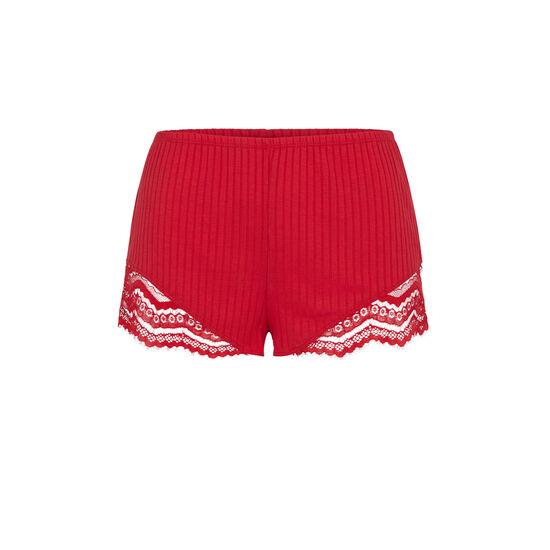 Short rojo cupiz;
