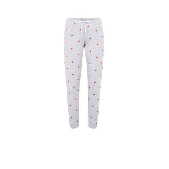 Pantalón gris pixeliz;