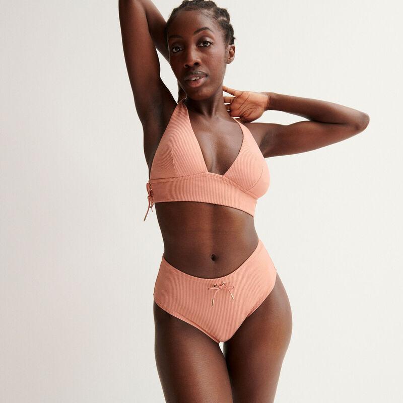 Braguita de talle alto Aya x undiz de talle alto - rosa nude;