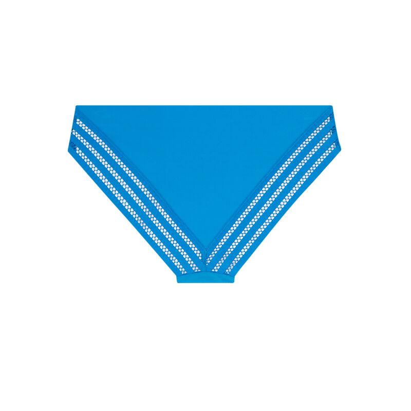 Braguita de microfibra lisa - azul;