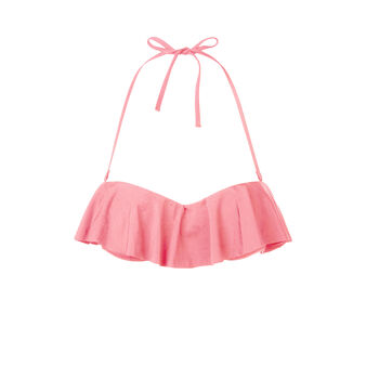 Parte de arriba de bikini rosa claro citroniz pink.