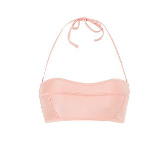 Parte de arriba de bikini rosa poupiz pink.