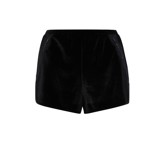Short negro velcroisiz;