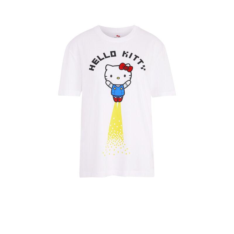 camiseta manga corta con estampado hello kitty jelokittiz;