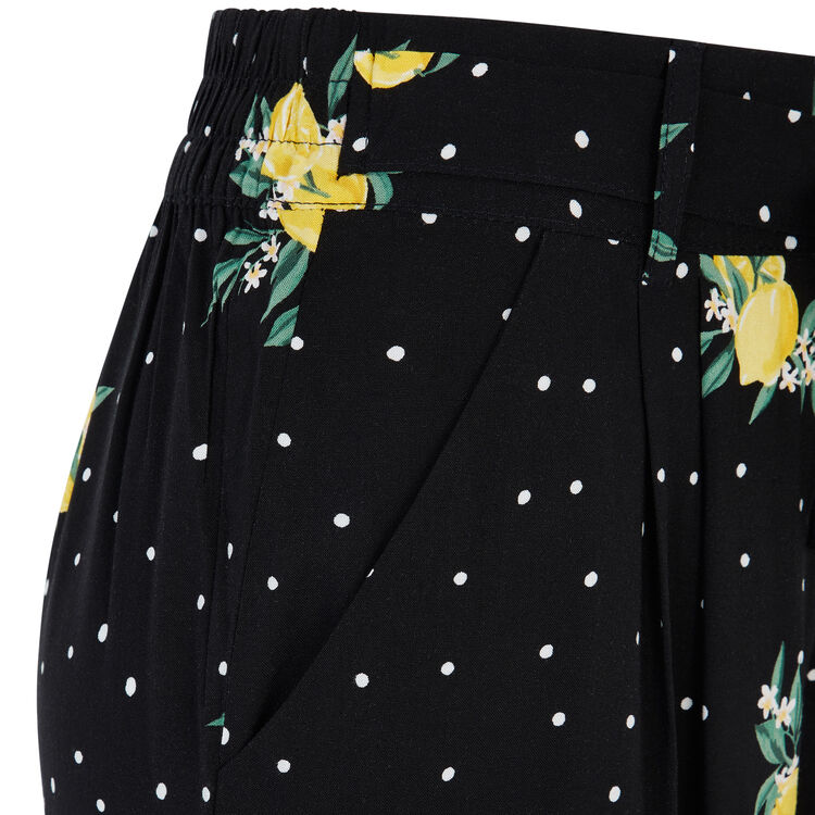Pantalón negro sicileiz;