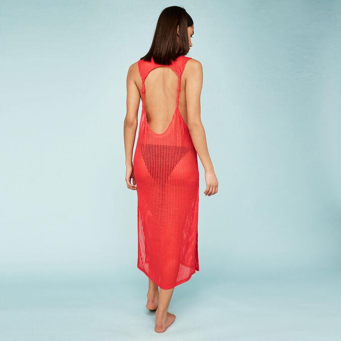 Vestido rojo dostorciz  red.