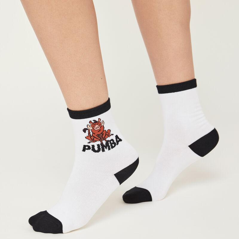 Calcetines blancos pumiz;