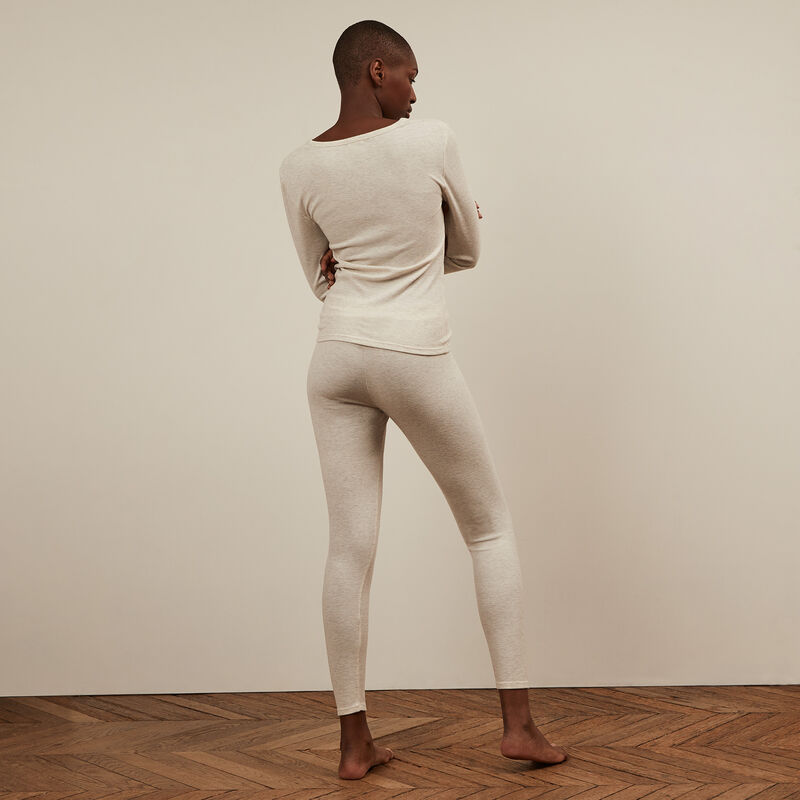 Legging lisos - gris;