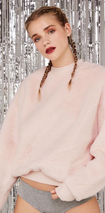 Sudadera rosa claro poilupiliz pink.