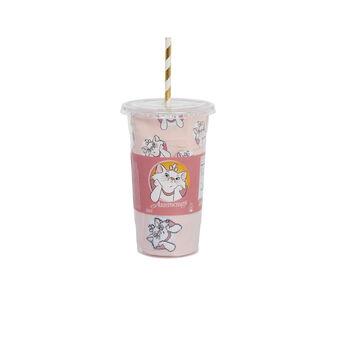 Set cup femme rose mangeriz pink.