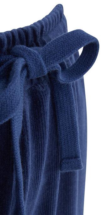 Pantalón deportivo azul largecrochiz blue.