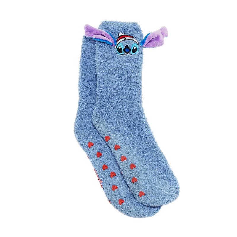 calcetines Stitch - azul ;
