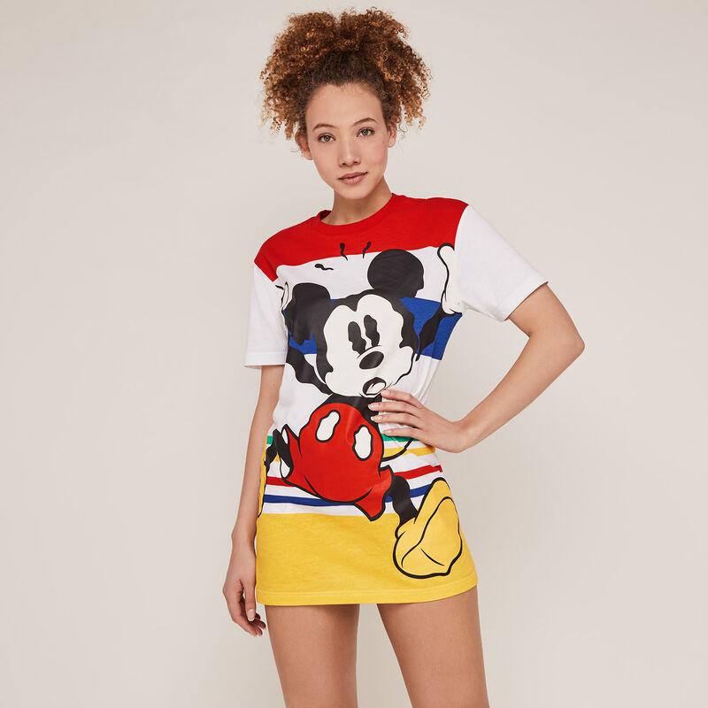 Túnica con estampado de Mickey - cruda;