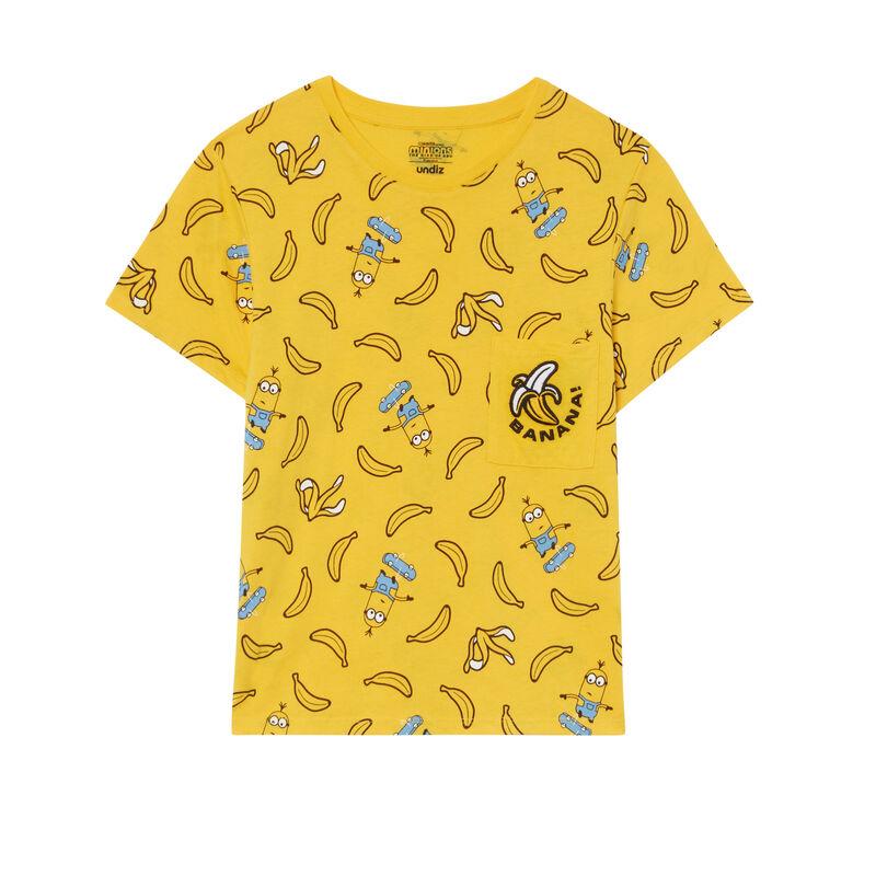 top Los Minions con motivos de plátanos - amarillo;