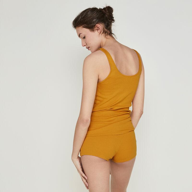 Shorts de color ocre newdebidiz;