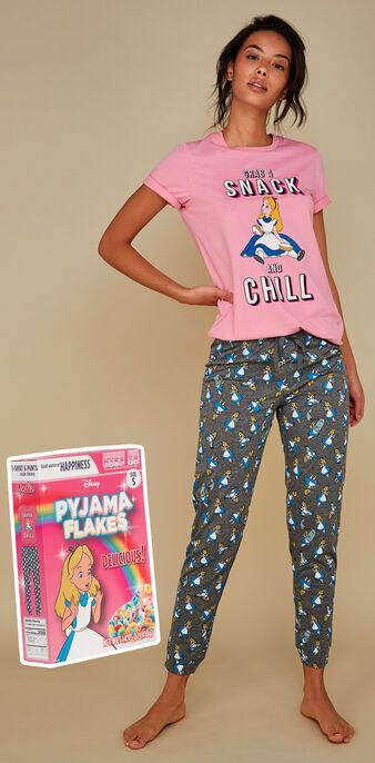 Set pyjama rose bananamiz pink.