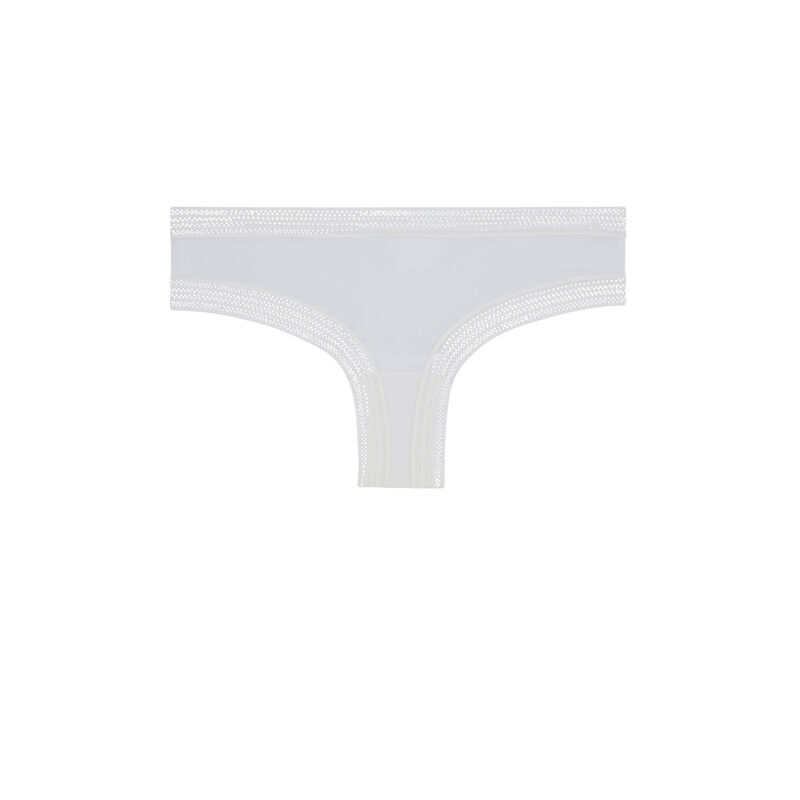 Braguita culotte blanca wafiz;