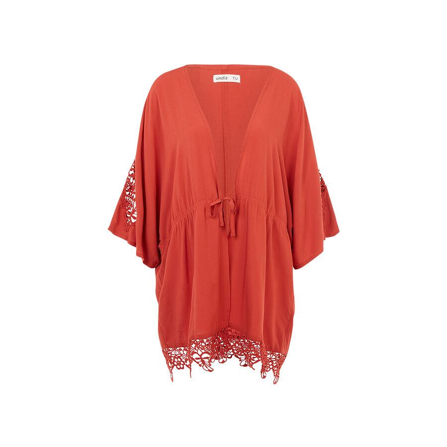 Kimono rojo ladrillo newcomacriz;