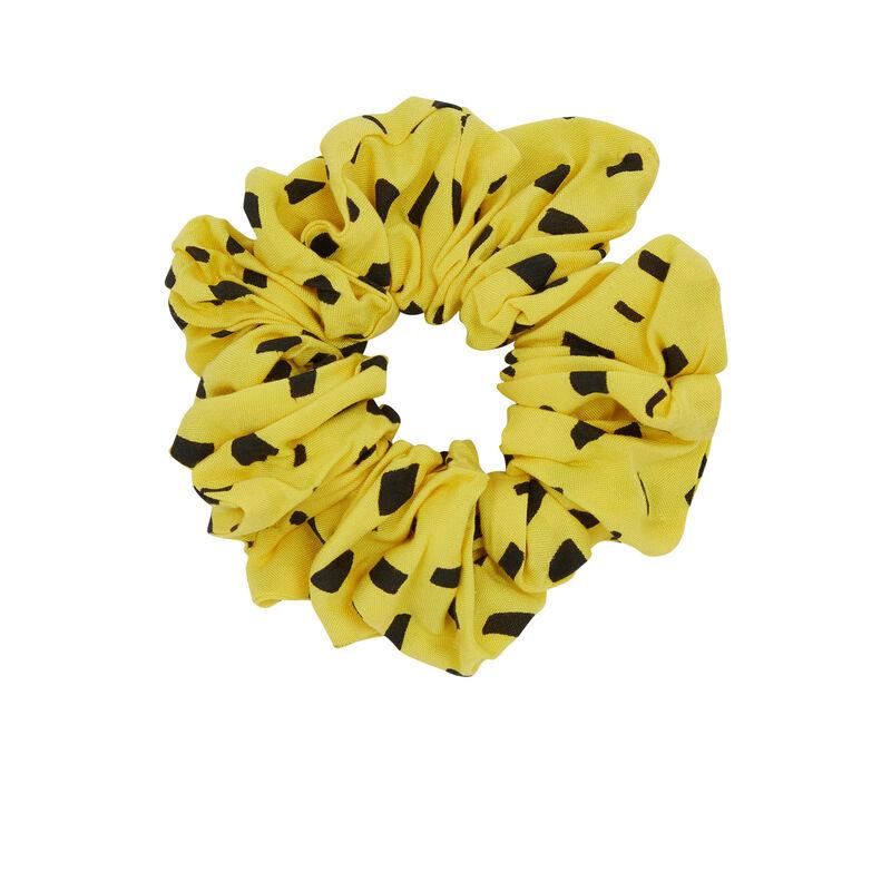 Goma del pelo estampado de Marsupilami - amarillo;