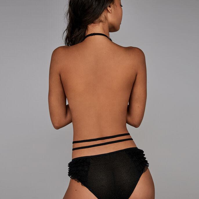 Culotte negro de cintura alta neckaliz black.