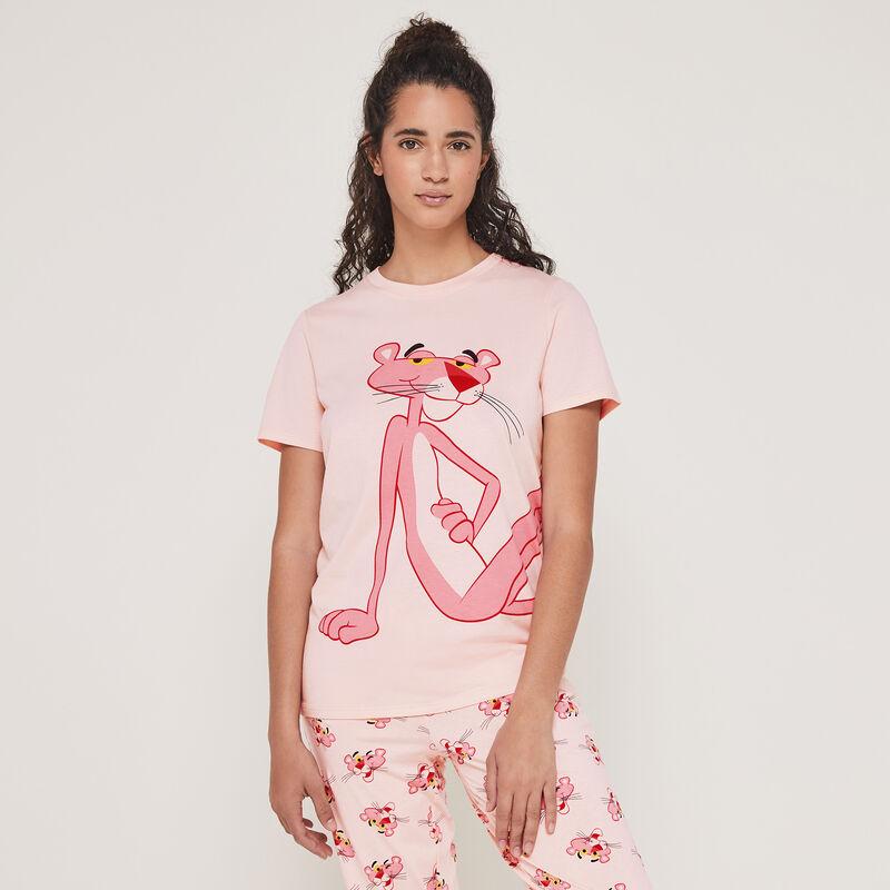 Conjunto de pijama top + pantalón estampado La Pantera Rosa pantheriz;