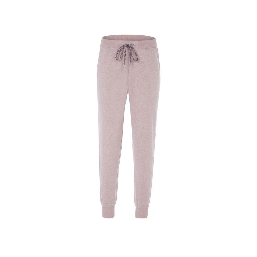 Pantalón rosa pastel chineziz;