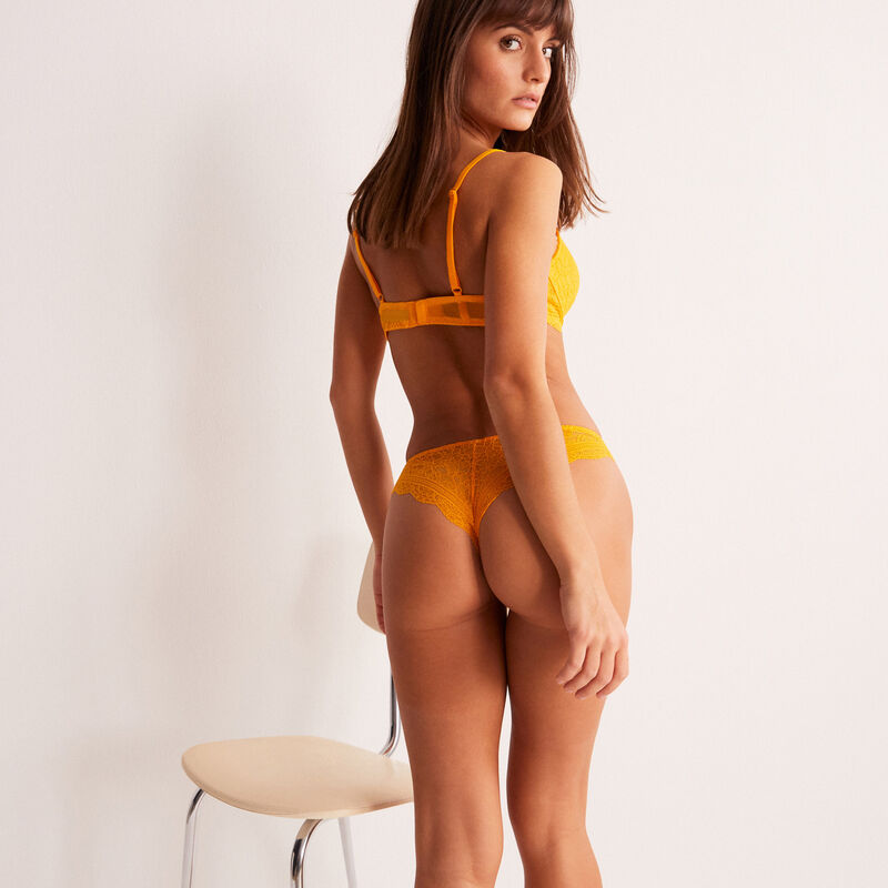 braguita brasileña de encaje - mango;