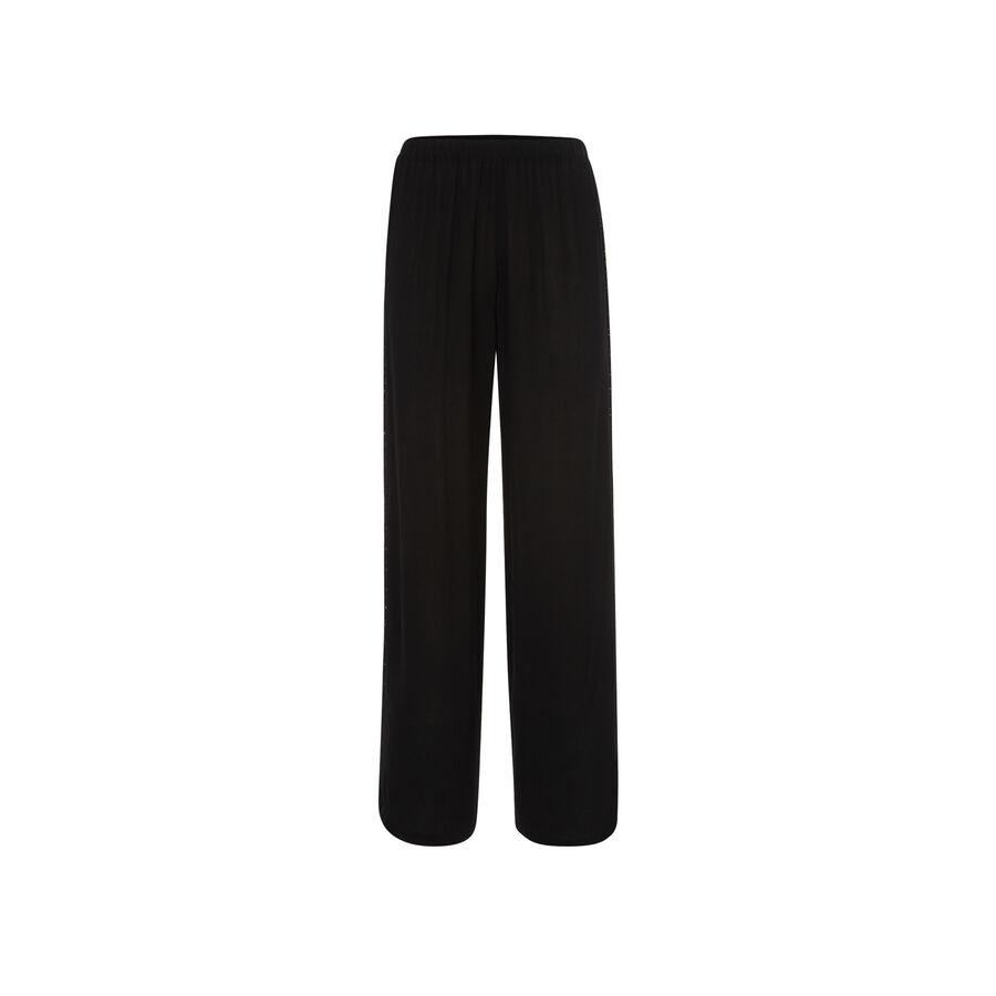 Pantalón negro yaviz;${refinementColor}