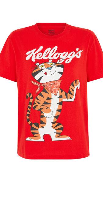 Juego de 2 pijamas licencia kellogg's tonyiz rojo.