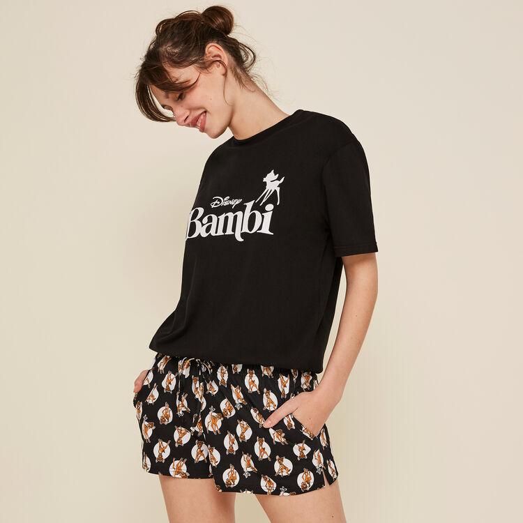Shorts negros topbambiz;