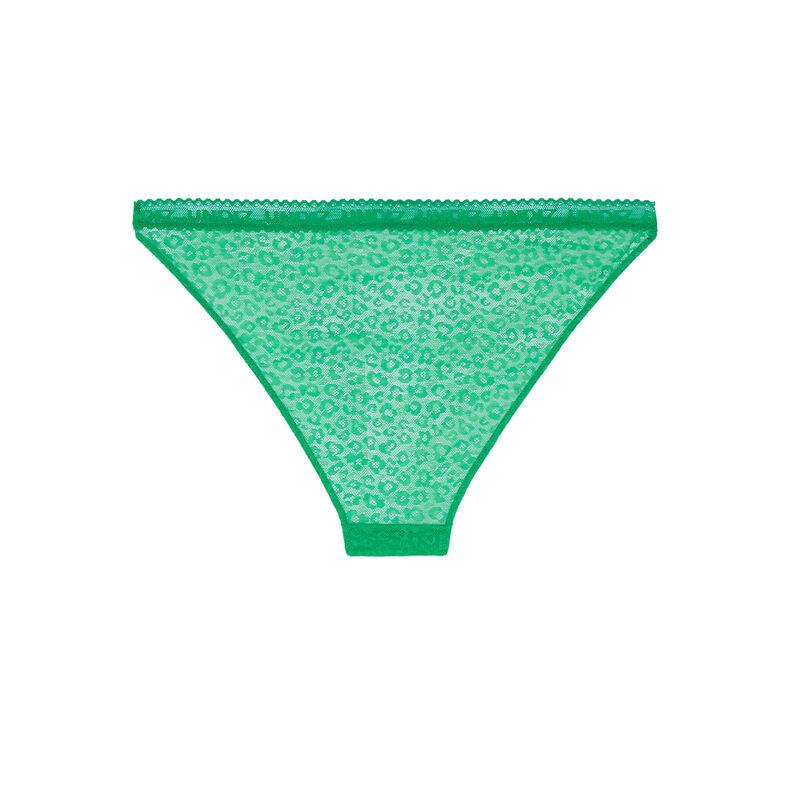 braguita de encaje con motivos - verde;