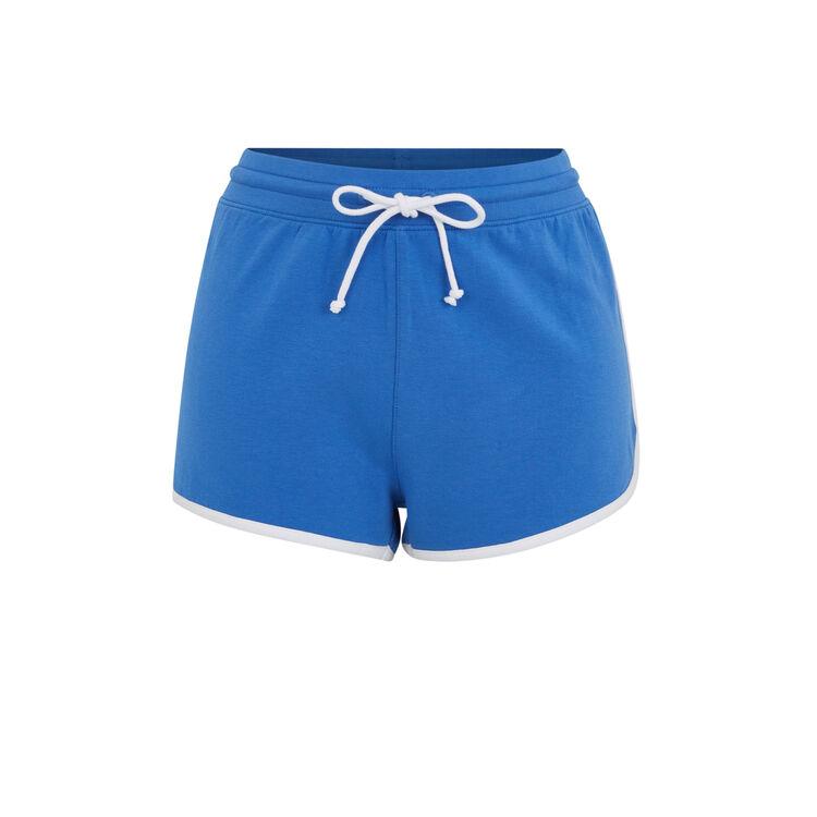 Shorts azules rayloosiz;