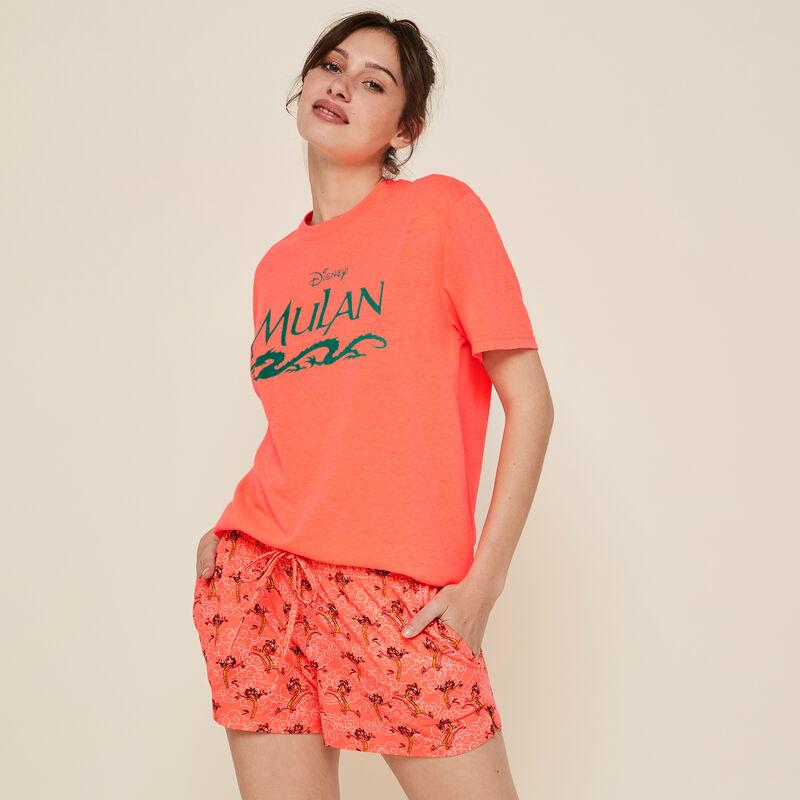 Camiseta coral fluorescente Castmulaniz;