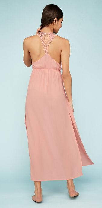 Vestido rosa largo dolidiz pink.