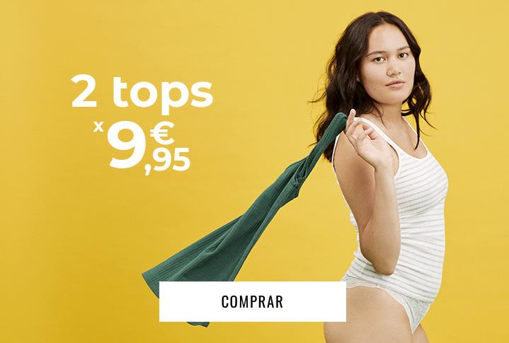 promo: 2 tops x 9.95€